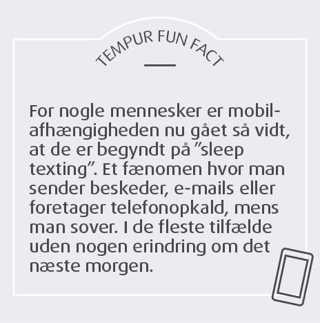 danskerne er blevet mere mobilafhængighed